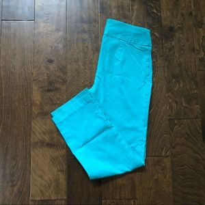 Turquoise Blue Pants